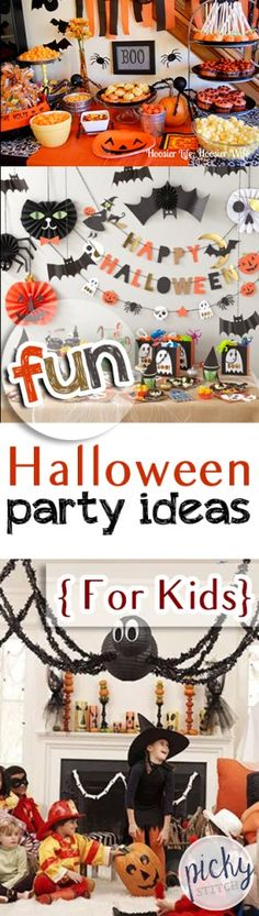 Fun Halloween Party Ideas { For Kids}