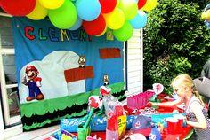 Anniversaire thème Mario Bros pour les 6 ans de mon fils !!!