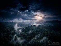 Sonnenaufgang, Ottenau /  –  » #Murgtal Ottenau #Wald #Nebel #Luftbild #Luftaufnahmen #DJI #DJIPhantom #Multicopter #Quadrocopter #Drone #Fotografie #einfachMedien #Bildbearbeiter #JoergSchumacher #myfavpicoftheday #myfavpicoftheweek  #Aerialphotography #Aerialpicture #Photography