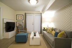 Modern living room, HGTV Income Property