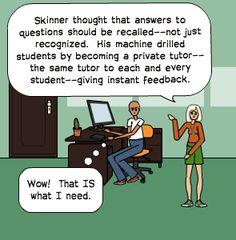 """B.F. Skinner - The Teaching Machine"" (a cute little comic)"