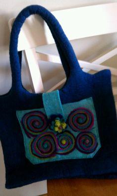 My felted handbag creation!