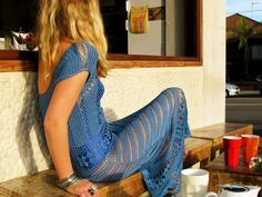 ...blue crochet for summer