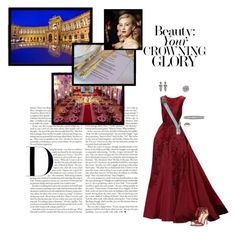 *Imperial Wedding 2008* (V) Gräfin Vanessa von Khevenhüller-Metsch attends the State Banquet at The Hofburg in honour of her marriage to HI&RH The Crown Prince of Austria 23-07-2008 by vanessa-von-osterreich on Polyvore featuring polyvore fashion style Alexandre Birman Elie Saab clothing