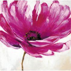 peindre fleur à l'acrylique - Recherche Google