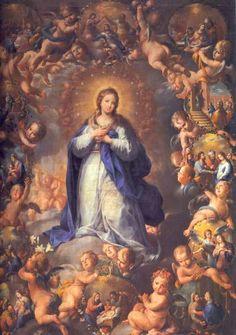 Inmaculada Concepción. Domingo Martinez:::::::RAFAES