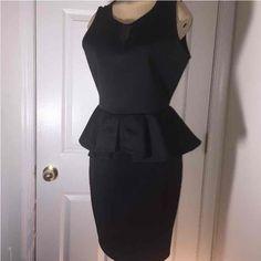 a8f10d5fe250 Black peplum dress - Mercari  Anyone can buy   sell 15 Dresses