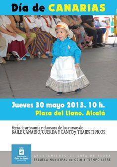 Feria de Artesanía en Guía de Isora.  Dentro de la programación del Día de Canarias, el Ayuntamiento de Guía de Isora organiza el 30 de mayo, de 10 a 16 horas, en la Plaza del Llano de Alcalá, esta tradicional feria de artesanía.