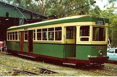 R class tram at Loftus (Sydney Tramway Museum)