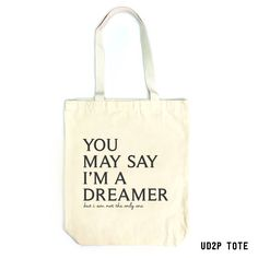 """UD2P Designer Tote Bag """"A Dreamer"""" $168  (Delivery Cost Waived)  *Sewing seams with binding. *Made of high density canvas. *Include a small inner pocket. *Printed with full color graphics *Printed in Hong Kong (Printed by Direct-to-Garment Digital Printer)  Order by Whatsapp: +852 6908 1157  Or Print Your Own Bag: http://ud2p.com/en/shop/art-bag-en/custom-art-bag/  #UD2P #customprint #personalizedgift #hkdesigner #hkdiy #diygift #deisgnertote #totebag #canvasbag #hktote"""