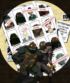 Tmnt - Same as it never was by strovecos.deviantart.com on @deviantART