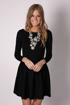 Fashion Blog: Black Dress Casual