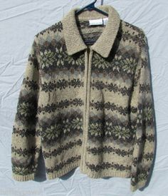 Womens Sweater Croft & Barrow. Size XL