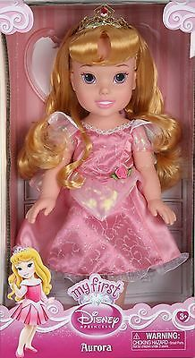 Toddler Aurora - My First Disney Princess - Sleeping Beauty Doll - Pink Dress