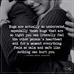 Hugs are actually so underrated - http://themindsjournal.com/hugs-are-actually-so-underrated/