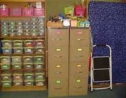 Teachers need extra storage space. Because as you continue your career you accumulate different activies and resources that can be retaught. This way you can help up with them and have for years to come. And you can even decorate them as you please.