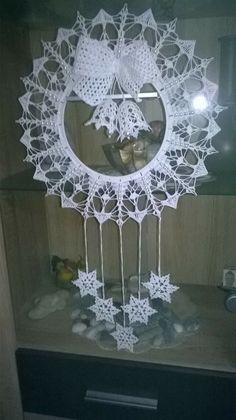 Crochet Applique Patterns Free, Crochet Snowflake Pattern, Crochet Square Patterns, Christmas Crochet Patterns, Holiday Crochet, Crochet Snowflakes, Christmas Knitting, Crochet Home, Crochet Motif
