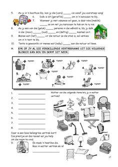 SkerpmakerB3 First Grade Math Worksheets, School Worksheets, School Resources, Teaching Skills, Teaching Aids, Classroom Activities, Learning Activities, Afrikaans Language, Sunday School Teacher