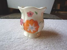 "Vintage Small Hand Painted Ceramic Vase "" BEAUTIFUL COLLECTIBLE USEABLE ITEM "" #vintage #collectibles #ceramics #kitchen #home"