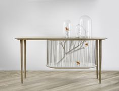5 Finest Cage Archibird Table by Gregoire de Lafforest Bountiful Garden, Wooden Tables, Bird Cage, Home Decor Inspiration, Entryway Tables, Cool Designs, Furniture Design, Birds, Interior