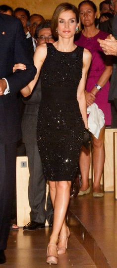 Queen Letizia of Spain's Most Captivating Style Moments - June 26, 2014 from #InStyle
