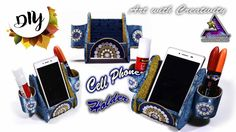 DIY : Cell phone Holder | Marble cell Phone holder inspired |  Art with ...