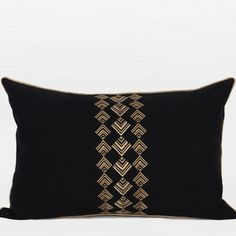 G Home Collection Geometry Pattern Cotton Pillow Cover