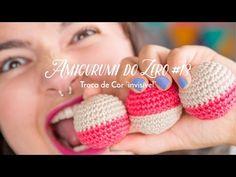 Amigurumi Tutorial, Amigurumi Patterns, Crochet Patterns, Crochet Video, Crochet Fashion, Crochet Toys, Diy And Crafts, Balloons, Origami