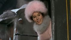 """costumefilms: Lovely fur coat and hat for Geraldine Chaplin in """"Dr. Zhivago"""" Kittyinva: Daughter of Charlie Chaplin and Oona O'Neil Chaplin Movie Costumes, Cool Costumes, Dr Zhivago, Doctor Zhivago, Tom Courtenay, David Lean, Alec Guinness, Julie Christie, Fashion Pictures"""