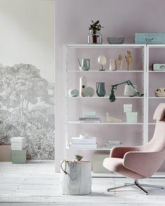 Zachte kleuren en stoere accenten! Repos Chair van Vitra bij Loft76.nl