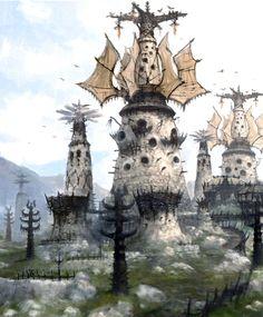 windmill concept art - Google 검색