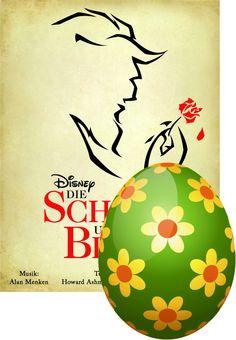 Ich habe ein Osterei gefunden! Jetzt mitmachen bei der grossen Ticketcorner Eiersuche! #TicketcornerEasterWin Disney, Decor, Beauty And The Beast, Nice Asses, Decorating, Dekoration, Deco, Decorations, Deck