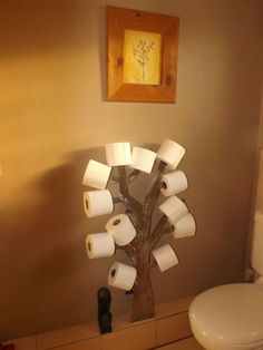 Tree Toilet Roll Holder