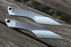 This is the midsize version of our kiridashi knife, which can be considered as a stripped down pocket knife. This design is clean and simple with a flowing handle, and a flat, functional cutting edge. This version is about 5 long from tip to tail. These dashis are recycled from old files, which are known to knife makers as being made out of some the best steel in the world, often 1095 or W1. These steels are highly durable, easy to sharpen, and will maintain their edge longer than many other…