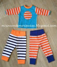 mi rincón de mariposas: Costuras para bebé