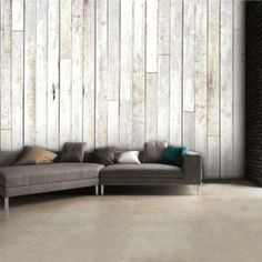 Whitewash wood paneling - Old wood panel can be instantly updated with a good paint job. Smooth over wood paneling can take old or worn out panels and How to Whitewash Wood Paneling Wooden Wall Panels, Wood Panel Walls, Wooden Walls, Paneled Walls, Look Wallpaper, Photo Wallpaper, Wallpaper Paste, White Washed Wood Paneling, Knotty Pine Walls