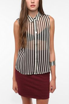 just bought this - a button-up that fits bigger boobs w/o making you look like a tent!
