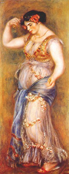 Dancer with Castanettes - Pierre-Auguste Renoir 1909