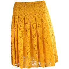 Prada Skirts ($1,460) ❤ liked on Polyvore featuring skirts, yellow, orange skirt, prada, prada skirt and yellow skirt