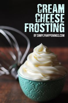 Bar Recipes, Drink Recipes, Dessert Recipes, Desserts, Simply Food, Simply Recipes, Cookie Frosting, Cream Cheese Frosting, Butter Cupcakes