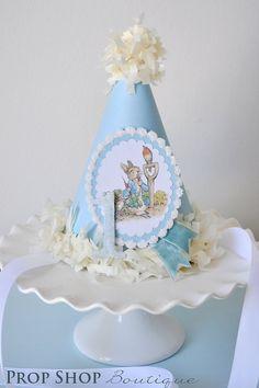 Peter Rabbit Birthday Party Hat