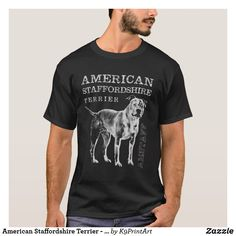 b83686115 American Staffordshire Terrier - Amstaff T-Shirt Bear T Shirt, Punisher T  Shirt,