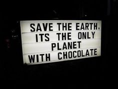 Another good reason to take care of our planet!