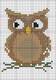 Brilliant Cross Stitch Embroidery Tips Ideas. Mesmerizing Cross Stitch Embroidery Tips Ideas. Cross Stitch Owl, Cross Stitch Animals, Cross Stitch Charts, Cross Stitch Designs, Cross Stitching, Cross Stitch Embroidery, Embroidery Patterns, Cross Stitch Patterns, Owl Patterns