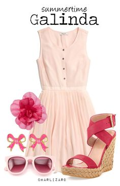 """""""Galinda"""" by charlizard ❤ liked on Polyvore"""