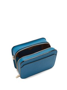 Click here to buy Valextra Dada grained-leather cross-body bag at MATCHESFASHION.COM