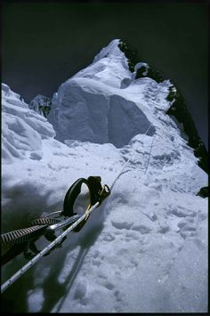 Broad Peak: Many climbers stop at the fore-summit, less than 20 vertical metres but a long hour or so walk away from the main summit.