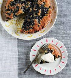 Recipe: Lemon-Blueberry Yogurt Cake with Lemon Cream — Recipes from The Kitchn
