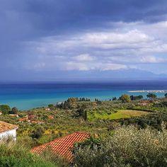 Idag har vi här alla årstiderna på en och samma gång   #husigrekland#Grekland #Peloponnesos#remotework