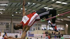 Paulo Conceição bateu o recorde nacional de salto em altura.